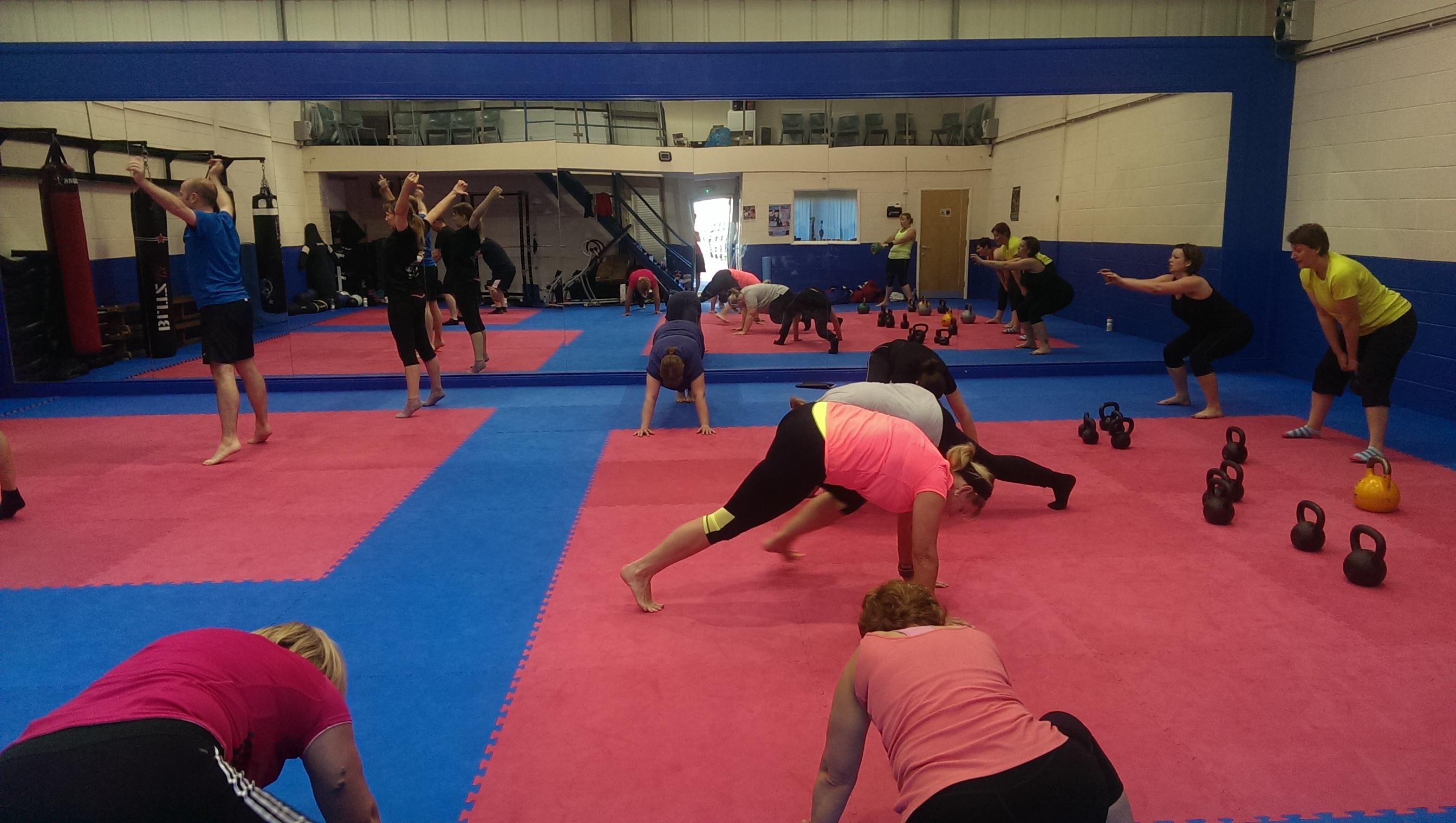 Assert Fitness - Large Group Training
