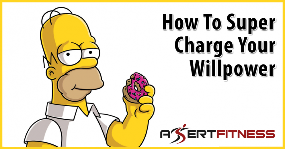 How To Super Charge Your Willpower