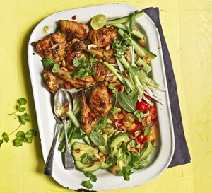 chilli-lime chicken salad