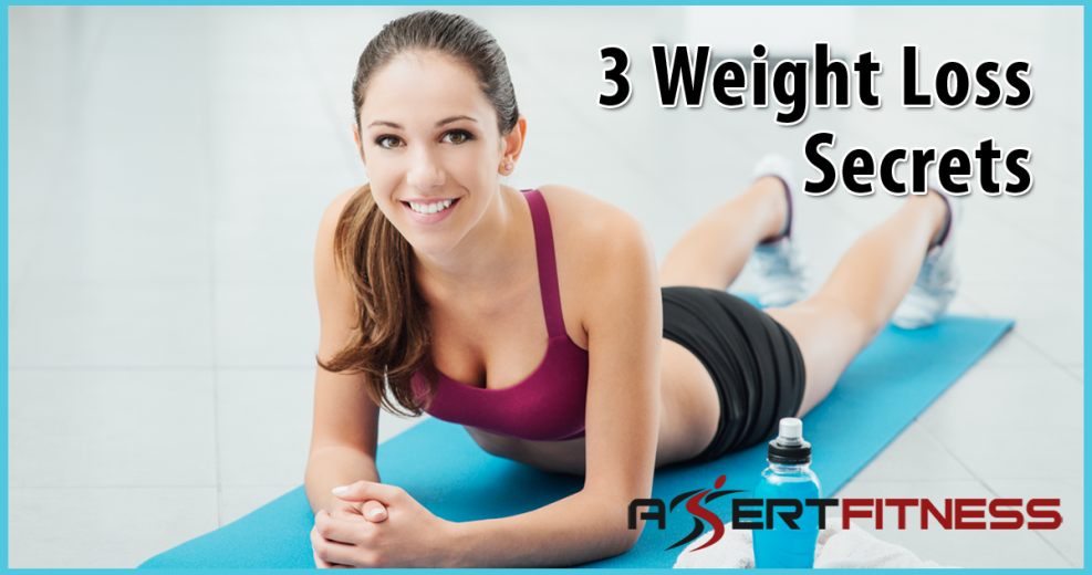 3 weight loss secrets